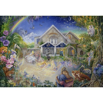 grafika-Puzzle - 100 pieces - Josephine Wall - Enchanted Manor