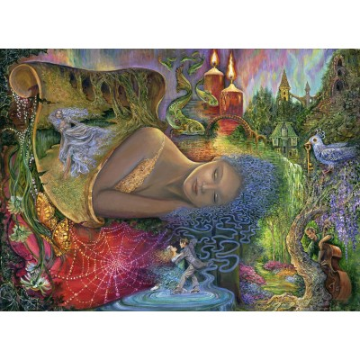 grafika-Puzzle - 300 pieces - Josephine Wall - Dreaming in Color