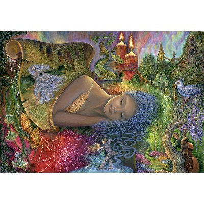 grafika-Puzzle - 100 pieces - Josephine Wall - Dreaming in Color