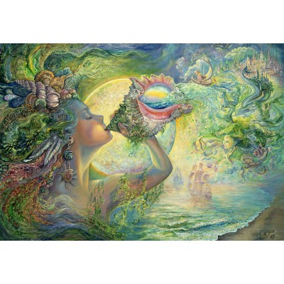 grafika-Puzzle - 100 pieces - Josephine Wall - Call of the Sea