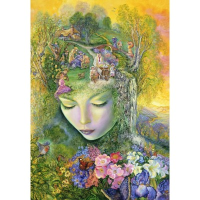 grafika-Puzzle - 100 pieces - Josephine Wall - Head Gardener