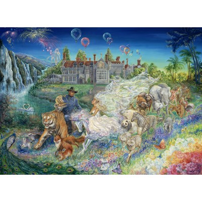 grafika-Puzzle - 300 pieces - Josephine Wall - Fantasy Wedding
