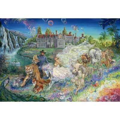 grafika-Puzzle - 100 pieces - Josephine Wall - Fantasy Wedding
