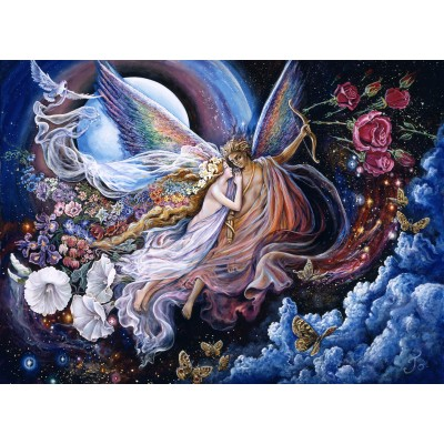 grafika-Puzzle - 300 pieces - Josephine Wall - Eros and Psyche
