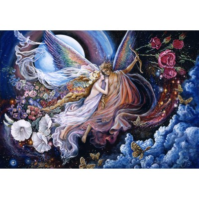 grafika-Puzzle - 100 pieces - Josephine Wall - Eros and Psyche