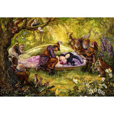 grafika-Puzzle - 100 pieces - Josephine Wall - Snow White