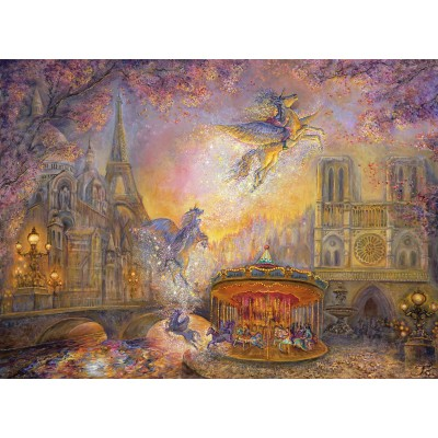 grafika-Puzzle - 300 pieces - Josephine Wall - Magical Merry Go Round