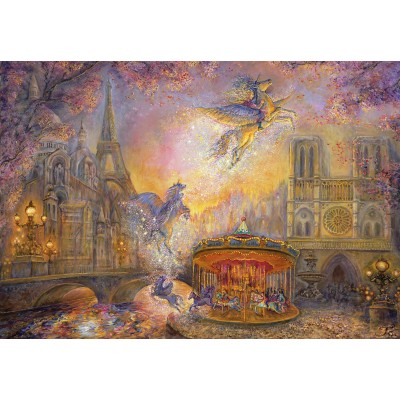 grafika-Puzzle - 100 pieces - Josephine Wall - Magical Merry Go Round