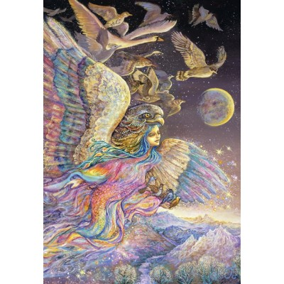 grafika-Puzzle - 100 pieces - Josephine Wall - Ariel's Flight