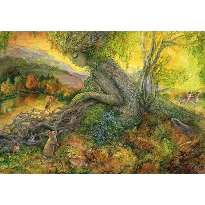 grafika-Puzzle - 100 pieces - Josephine Wall - Autumn Serenade