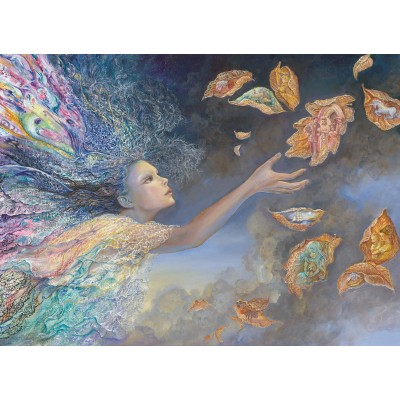 grafika-Puzzle - 300 pieces - Josephine Wall - Catching Wishes