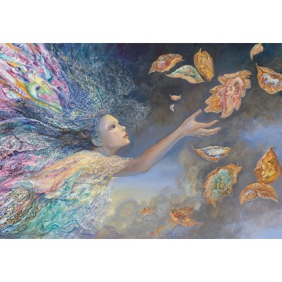 grafika-Puzzle - 100 pieces - Josephine Wall - Catching Wishes