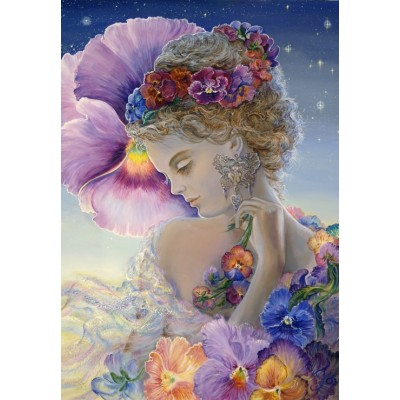 grafika-Puzzle - 100 pieces - Josephine Wall - Pansy