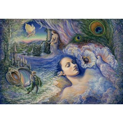 grafika-Puzzle - 100 pieces - Josephine Wall - Whispered Dreams