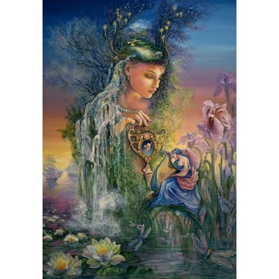 grafika-Puzzle - 100 pieces - Josephine Wall - Undine