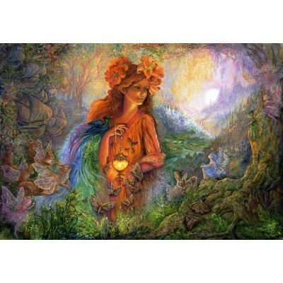 grafika-Puzzle - 100 pieces - Josephine Wall - Lighting the Way