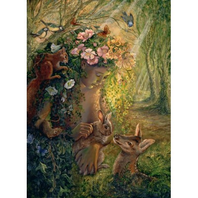 grafika-Puzzle - 300 pieces - Josephine Wall - The Wood Nymph