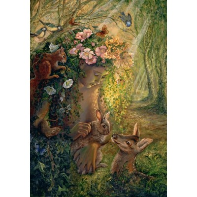 grafika-Puzzle - 100 pieces - Josephine Wall - The Wood Nymph