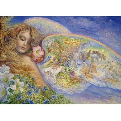 grafika-Puzzle - 300 pieces - Josephine Wall - Wings of Love