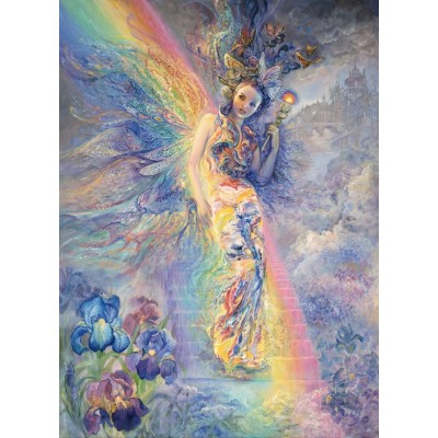 grafika-Puzzle - 300 pieces - Josephine Wall - Iris, Keeper of the Rainbow