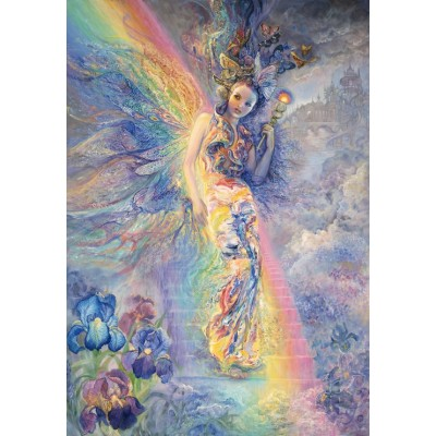grafika-Puzzle - 100 pieces - Josephine Wall - Iris, Keeper of the Rainbow