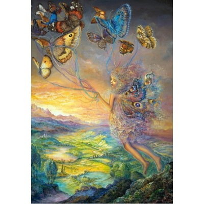 grafika-Puzzle - 100 pieces - Josephine Wall - Up and Away