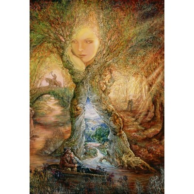 grafika-Puzzle - 100 pieces - Josephine Wall - Willow World