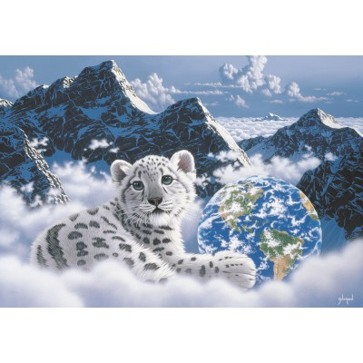 grafika-Puzzle - 100 pieces - Schim Schimmel - Bed of Clouds