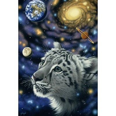 grafika-Puzzle - 12 pieces - XXL Pieces - Schim Schimmel - One with the Universe