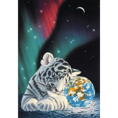 grafika-Puzzle - 100 pieces - Schim Schimmel - Earth Light