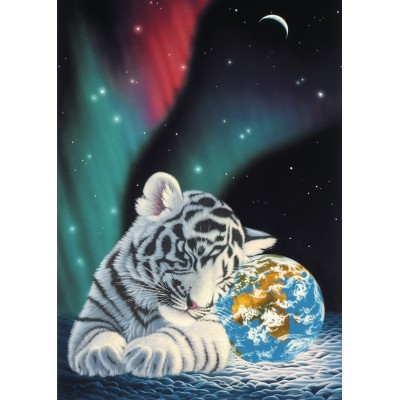 grafika-Puzzle - 24 pieces - Schim Schimmel - Earth Light