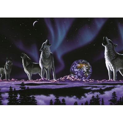 grafika-Puzzle - 24 pieces - Magnetic Pieces - Schim Schimmel - Earth Song