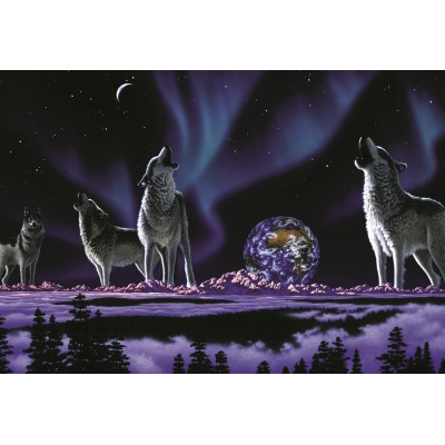 grafika-Puzzle - 12 pieces - XXL Pieces - Schim Schimmel - Earth Song