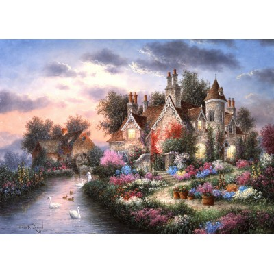 grafika-Puzzle - 24 pieces - Dennis Lewan - Mill Creek Manor