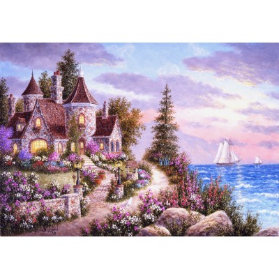 grafika-Puzzle - 100 pieces - Dennis Lewan - Belle d'Amour