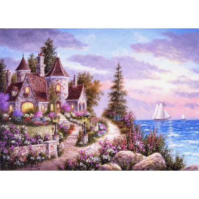 grafika-Puzzle - 24 pieces - Dennis Lewan - Belle d'Amour