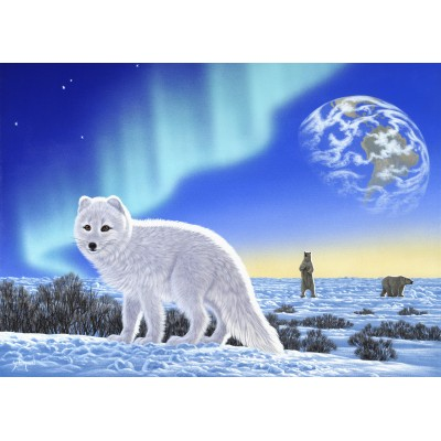 grafika-Puzzle - 24 pieces - Schim Schimmel - Artic Fox