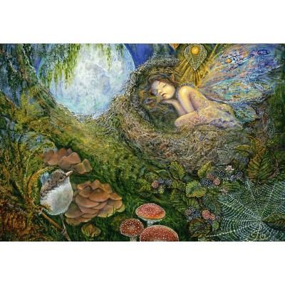 grafika-Puzzle - 100 pieces - Josephine Wall - Fairy Nest