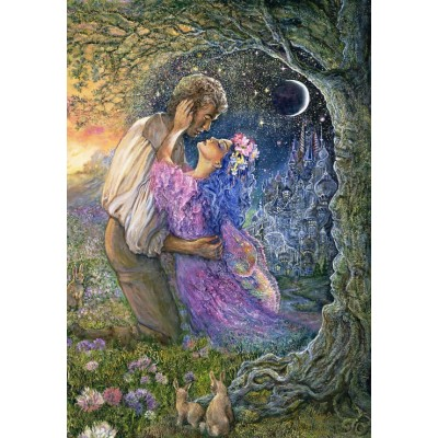 grafika-Puzzle - 100 pieces - Josephine Wall - Love Between Dimensions