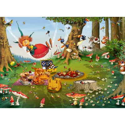 grafika-Puzzle - 300 pieces - François Ruyer - Witch