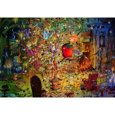 grafika-Puzzle - 100 pieces - François Ruyer - Witch