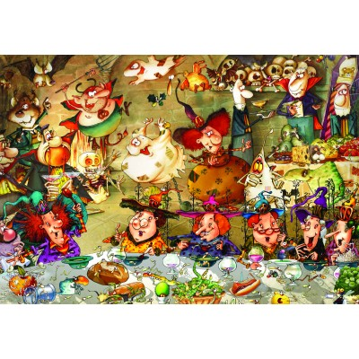 grafika-Puzzle - 100 pieces - François Ruyer - Witches