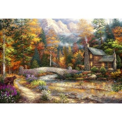 grafika-Puzzle - 100 pieces - Chuck Pinson - Call of the Wild