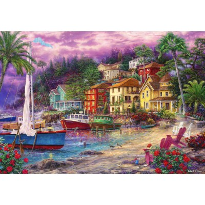 grafika-Puzzle - 100 pieces - Chuck Pinson - On Golden Shores