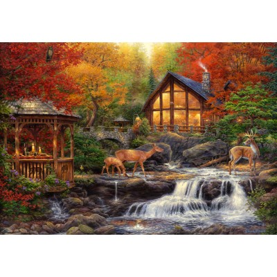 grafika-Puzzle - 100 pieces - Chuck Pinson - The Colors of Life