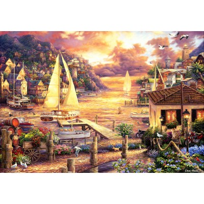 grafika-Puzzle - 100 pieces - Chuck Pinson - Catching Dreams