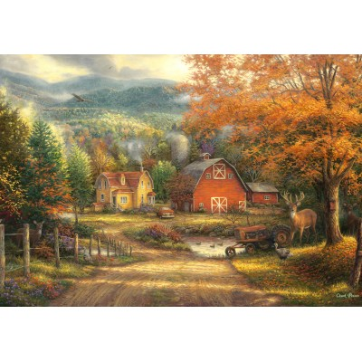 grafika-Puzzle - 100 pieces - Chuck Pinson - Country Roads Take Me Home