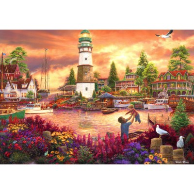 grafika-Puzzle - 100 pieces - Chuck Pinson - Love Lifted Me