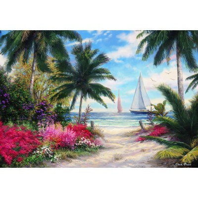 grafika-Puzzle - 100 pieces - Chuck Pinson - Sea Breeze Trail