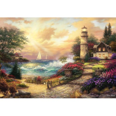 grafika-Puzzle - 100 Teile - Chuck Pinson - Seaside Dreams